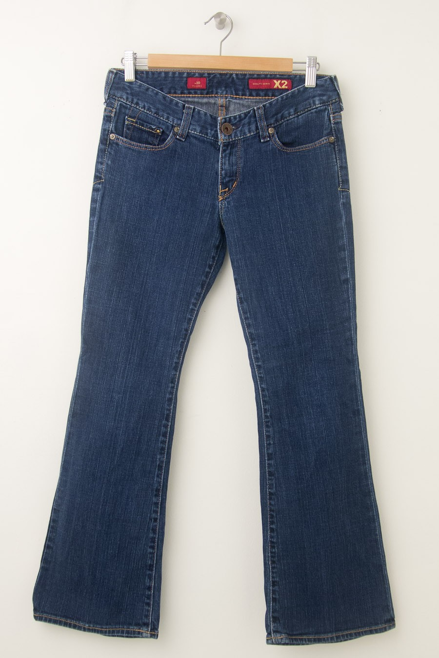 Express X2 W10 Flare Jeans Women S 4s Short