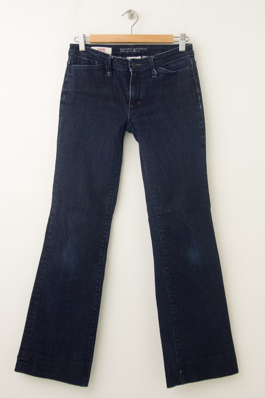 Banana Republic Classic Wide Leg Jeans Women's 2 (hemmed)