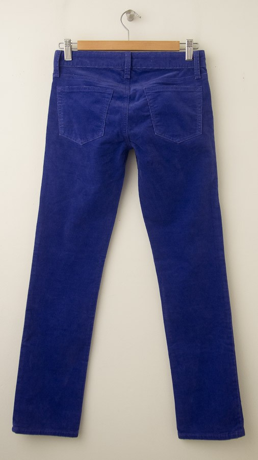 another chance variety of designs and colors choose clearance NEW Gap 1969 Real Straight Cords Corduroy Pants in Powerful Blue