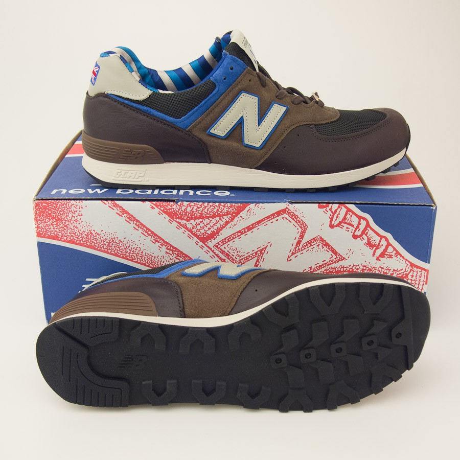 finest selection 71c5b 18328 New Balance Made in England Race Day 576 The Fighter Sneaker M576RBB