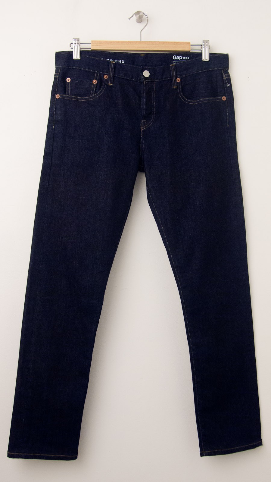 New Gap 1969 Made In Usa Selvedge Sexy Boyfriend Jeans In