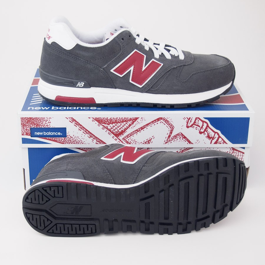 Data wydania: super jakość Cena obniżona New Balance Men's Retro 565 Classics Running Shoes ML565NR in Dark Grey