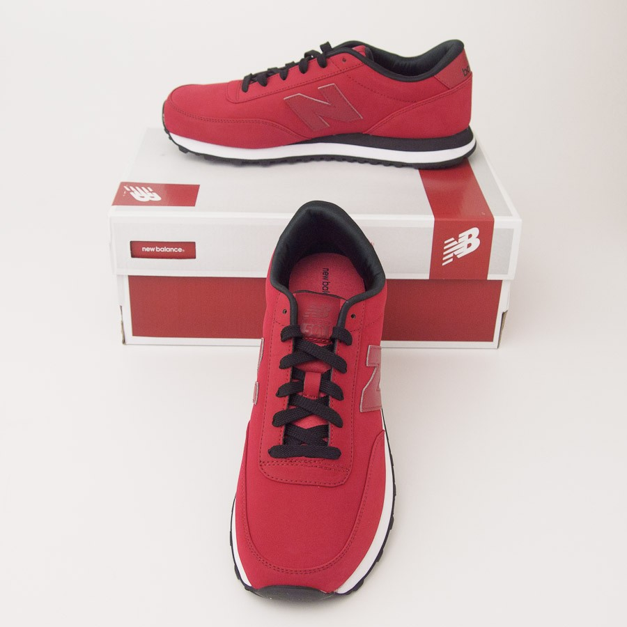 Roller tennis shoes - New Balance Men S High Roller 501 Classics Running Shoes Ml501hrr In Red