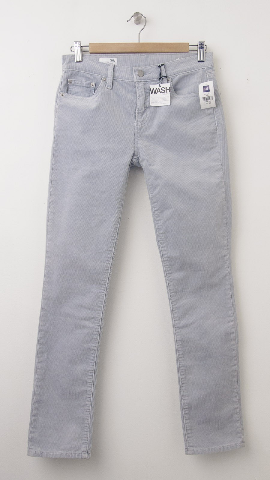 best collection fresh styles big discount sale NEW Gap 1969 Mid-Rise Real Straight Cords Corduroy Pants in Hint of Lilac