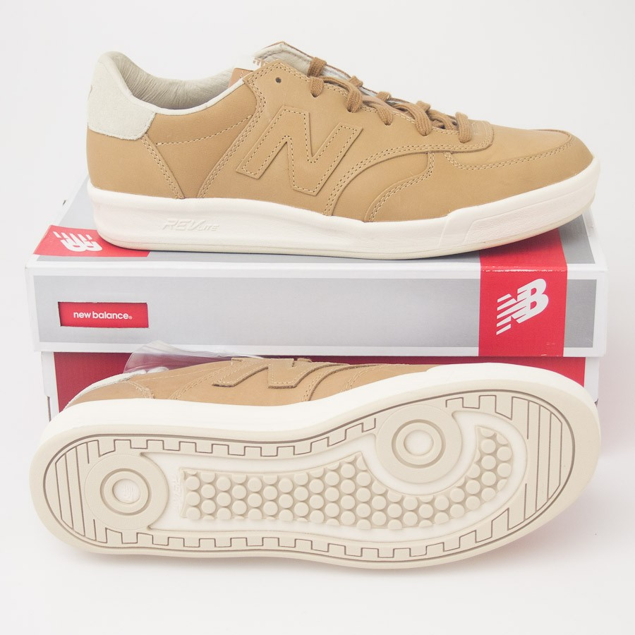 3c5f1c07b0b6a New Balance Men's Off Court 300 Shoes Retro Sneakers in Tan ...