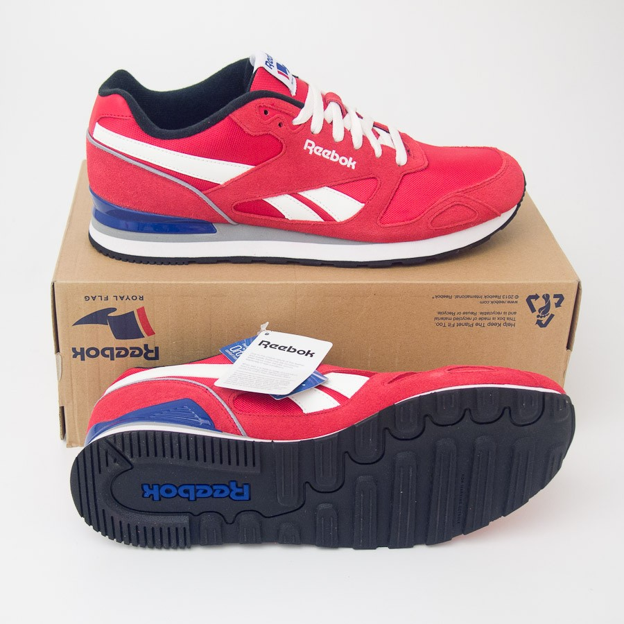 V56023 Mission Athletic Royal Reebok Men's Shoes Red Sneakers In qYn7qpZwx