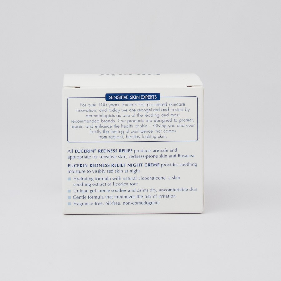 Eucerin Redness Relief Night Cream 1 7oz Jar