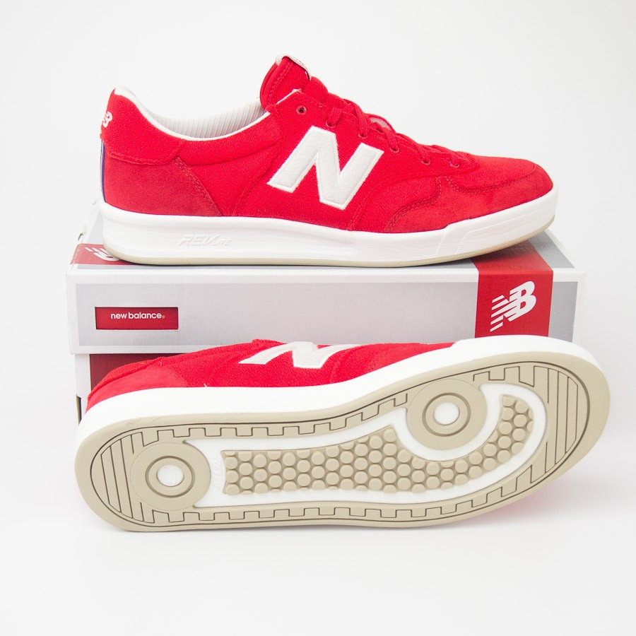 cdbb26dd New Balance Men's 300 Terry Court Shoes Sneakers CRT300ID in Red