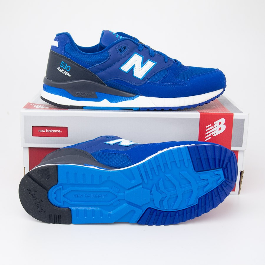 on sale 3d02a f325f New Balance Men's 530 Elite Edition Pinball Running Shoes M530PIB in Royal  Blue
