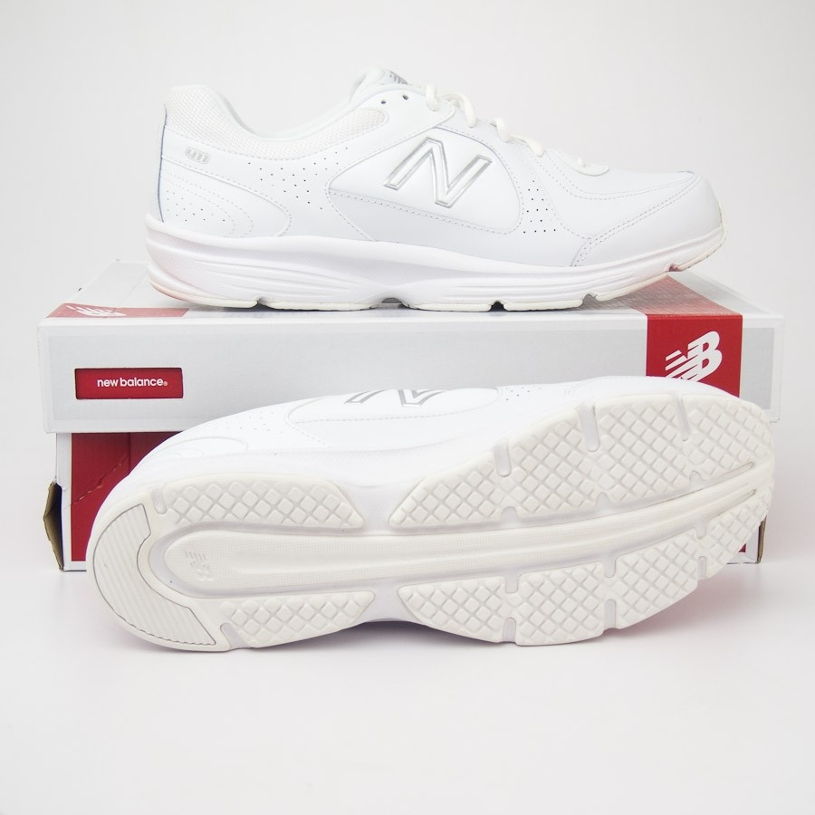 b929ecd60de New Balance Men s 411 Walking Shoe MW411WT in White