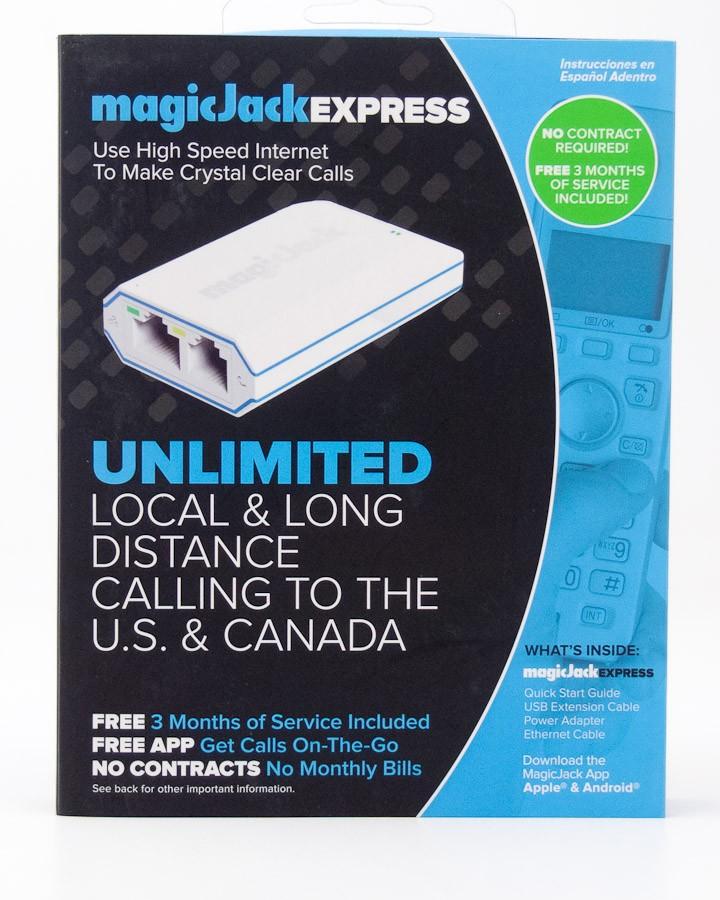 MagicJack Express Digital Phone Service VoIP Adapter K1103