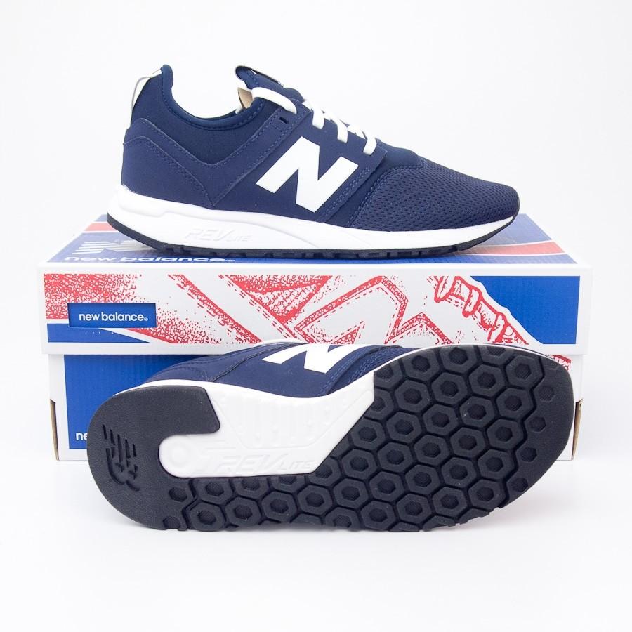 100% authentic fccc7 b565f New Balance Women's NB x J.Crew Classics Running Shoes WRL247J4 in Navy
