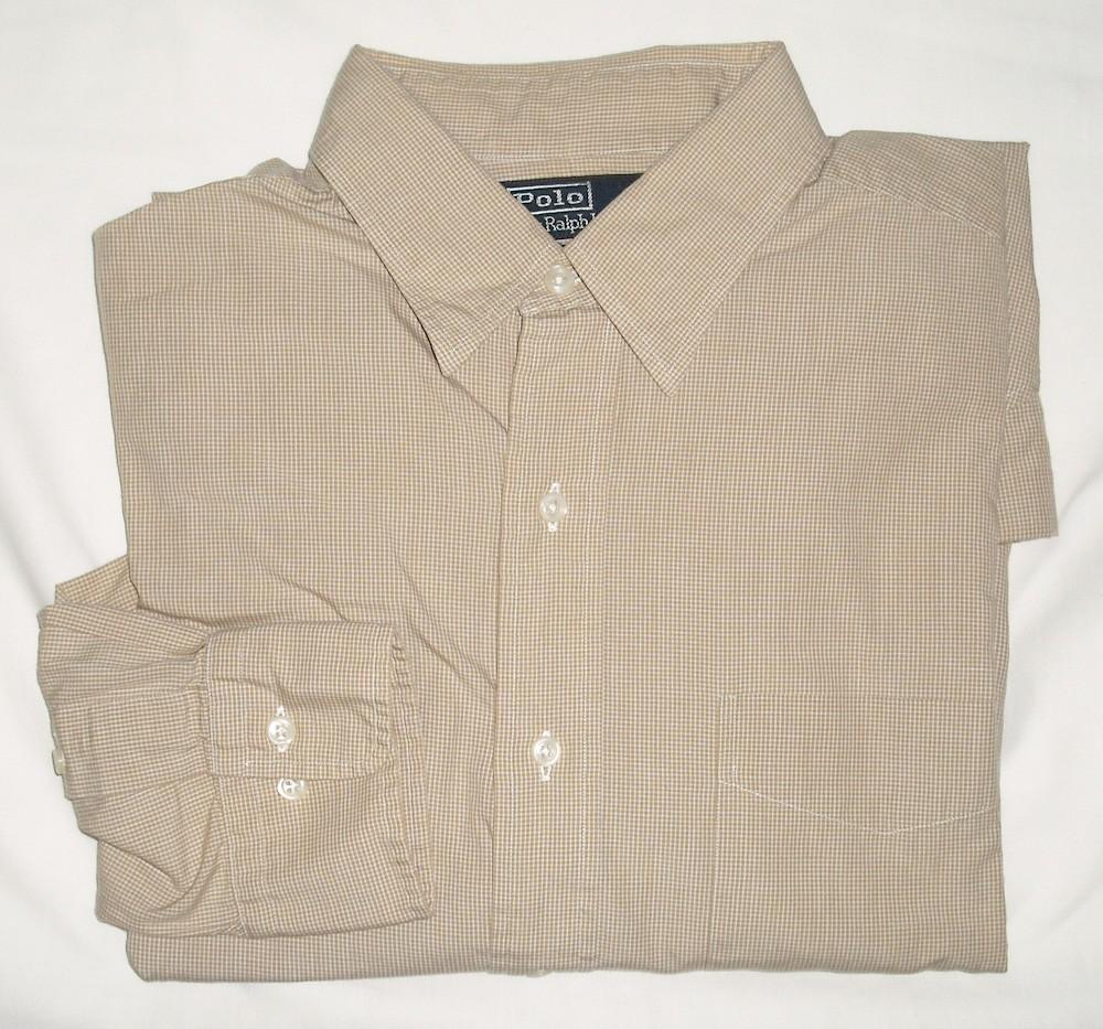 Polo By Ralph Lauren Andrew Dress Shirt Mens 16 3435