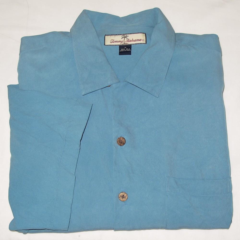 Tommy Bahama Silk Hawaiian Shirt Men 39 S M Medium