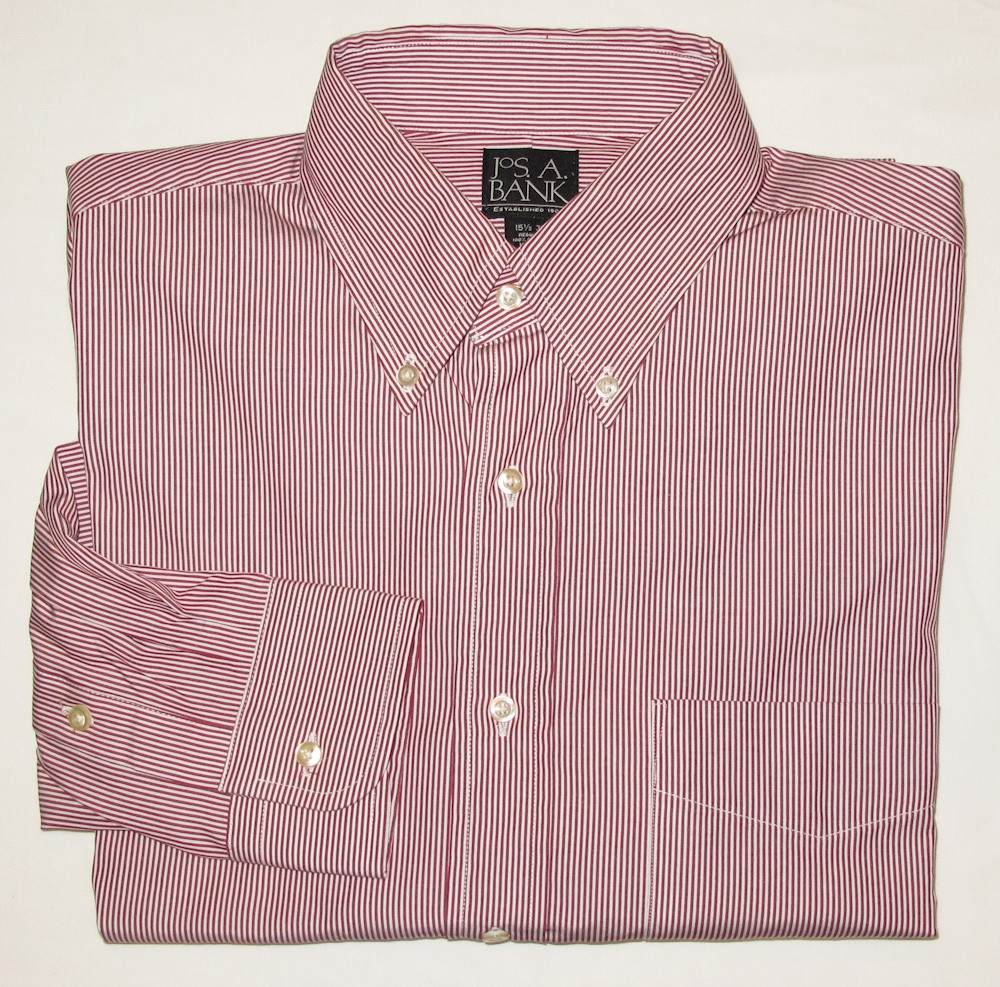 Jos a bank dress shirt men 39 s 15 5 35 regular for Joseph banks dress shirts