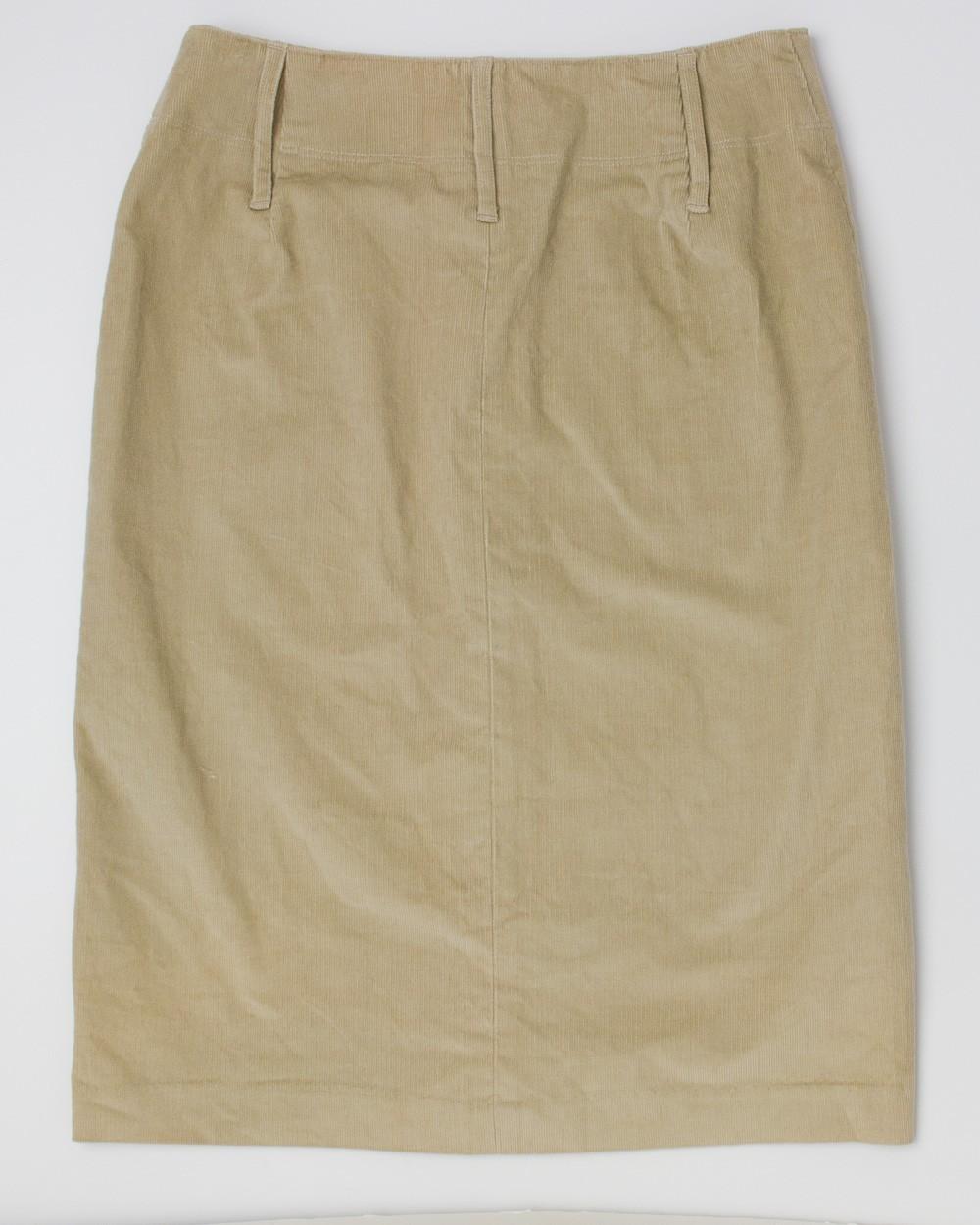 express corduroy skirt s 1 2