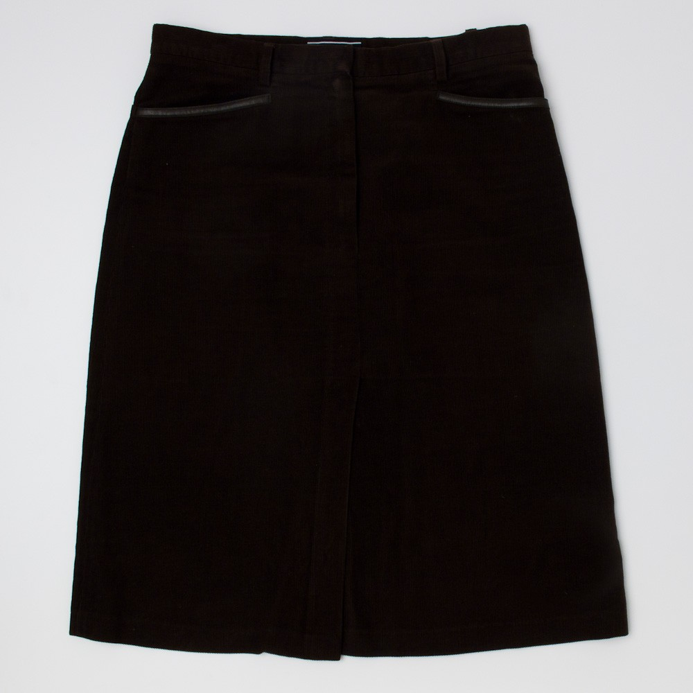 joseph corduroy skirt s m medium