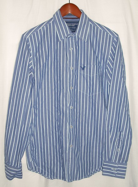 American Eagle Vintage Fit Eagle Oxford Men 39 S Small S
