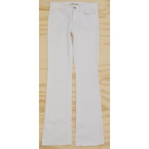 J Brand Mid-Rise Boot Leg Jeans in White Women's 25
