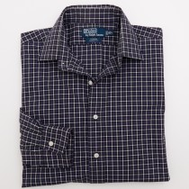 Polo by Ralph Lauren Curham Classic Fit Check Dress Shirt 16/L - Large