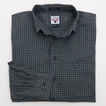 Faconnable Plaid Twill Shirt Men's M - Medium