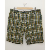 J. Crew Plaid City Fit Shorts Women's 12