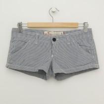 Hollister Striped Short Shorts Women's 0