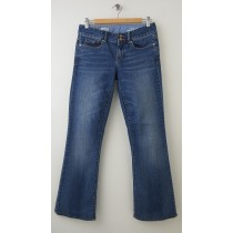 Gap 1969 Perfect Boot Jeans Women's 26/2r (Hemmed w/Originals)