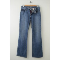 Lucky Brand Mid Rise Flare Jeans Women's 28/6 Regular Length