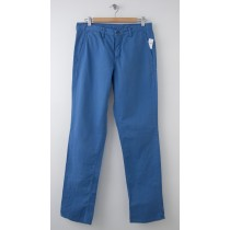 NEW Gap Men's 1969 Slim Fit Denim Washed Khaki Pants in Union Blue