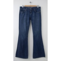 American Eagle Outfitters Real Flare Jeans Women's 6 Long Stretch
