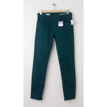 NEW Gap 1969 Legging Jean Jeans in Tropic Green