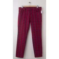 NEW Gap 1969 Always Skinny Jeans in Red Plaid