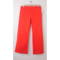 NEW Gap Perfect Khaki Pants in Lava Orange