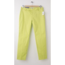 NEW Gap Slim Cropped Pants in Peridot