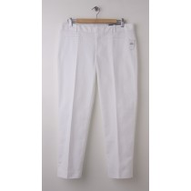NEW Gap Slim Cropped Pants in Optic White