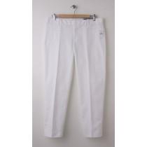NEW Gap Slim Cropped Pants in Optic White