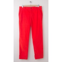 NEW Gap Broken-In Straight Corduroy Khaki Pants in Lava Orange