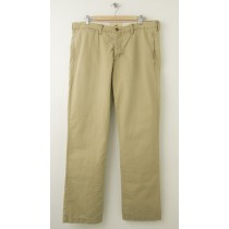 NEW Hollister Slim Straight Chinos Pants in Tan Men's 36 x 32