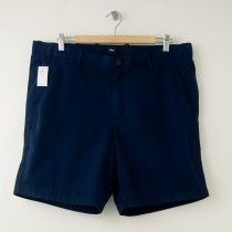 "NEW Gap Flat Front 8"" Short in Navy Base Blue"
