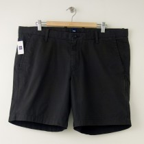 "NEW Gap Flat Front 8"" Short in Flint Grey"
