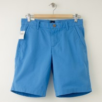 "NEW Gap Flat Front 10"" Short in Clean Blue"