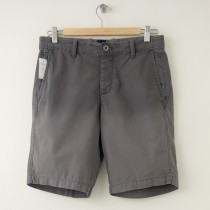 "NEW Gap Flat Front 9.5"" Sun-Washed Short in Hermatite"