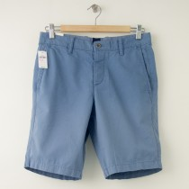 "NEW Gap Flat Front 9.5"" Sun-Washed Short in Soft Cornflower"