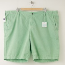 NEW Gap Garment Dyed Bedford Shorts in Endive Men's 46