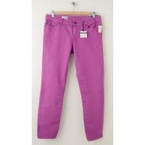 NEW Gap 1969 Always Skinny Skimmer Jeans in Neon Violet