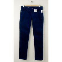 NEW Gap 1969 Always Skinny Velvet Pants in Bright Royal Blue