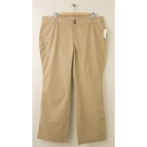 NEW Old Navy Sweatheart Khaki Pants in Rolled Oats Women's 18S - Short