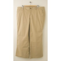 NEW Old Navy Perfect Chino Pants in Rolled Oats Women's Plus 20 Short