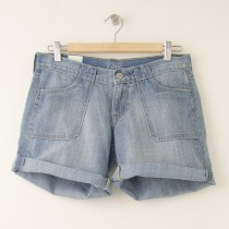 "NEW Old Navy Diva 5"" Surplus Denim Shorts in Horizon"